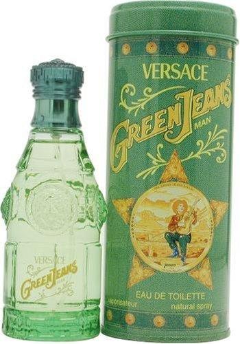 Green Jeans By Gianni Versace For Men. Eau De Toilette Spray 2.5 Ounces