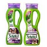 Savile Biotina Pulpa de Sabila y Keratina Shampoo/Acondicionador (Shampoo and Conditioner) by Savile