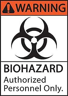 Best green biohazard sign Reviews