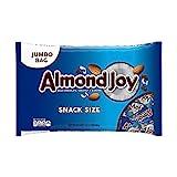 Almond Joy, Chocolate Coconut Candy bar, Snack Size, 20.1 Oz