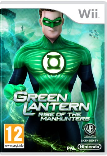 Green Lantern: Rise of the Manhunters (Wii) [Edizione: Regno Unito]