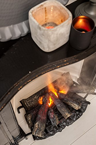 FABER Opti Myst – Chimenea de vapor de agua (68 cm de ancho)