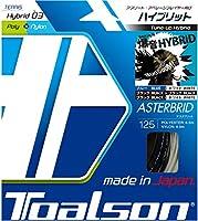 トアルソン TOALSON テニスガット 単張り アスタブリッド(ASTERBRID) 125 ブラック×ホワイト 7492510W ブラック×ホワイト 125