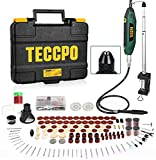 Best Dremel Tools - Upgraded Rotary Tool TECCPO 1.8 amp, 10000-40000RPM, 6 Review