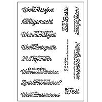 DIYのスクラップブッキング/フォトアルバムのためのドイツ語の透明なシリコーンスタンプ/シール装飾的なクリアスタンプ4ds