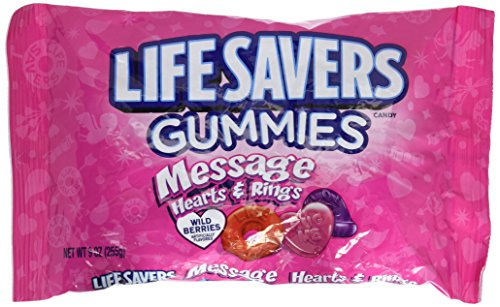 Lifesavers Gummies - Messages Hearts & Rings