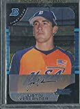 2005 Bowman Draft Chrome #BDP129 Justin Verlander Rookie Card Houston Astros Detroit Tigers. rookie card picture