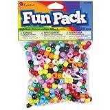 Cousin DIY 3mm 650 Piece Mini Pony Beads, Primary Color Mix