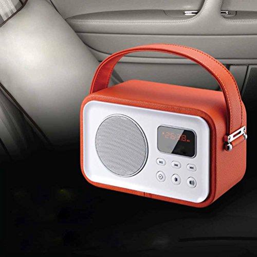 DD Bluetooth-luidspreker, wekker, computer, telefoonkaart, kleine audio-subwoofer oudere radio