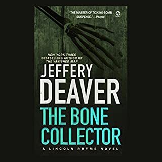 The Bone Collector                   Written by:                                                                                                                                 Jeffery Deaver                               Narrated by:                                                                                                                                 David McCallum                      Length: 3 hrs and 24 mins     3 ratings     Overall 4.7