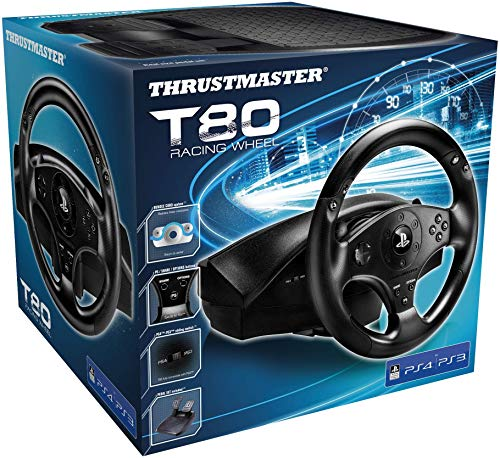 Thrustmaster T80 | Racing Game Wheel | PS3/PS4
