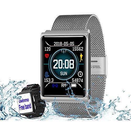 Smart Watch, Fitness Tracker Heart Rate & Blood...