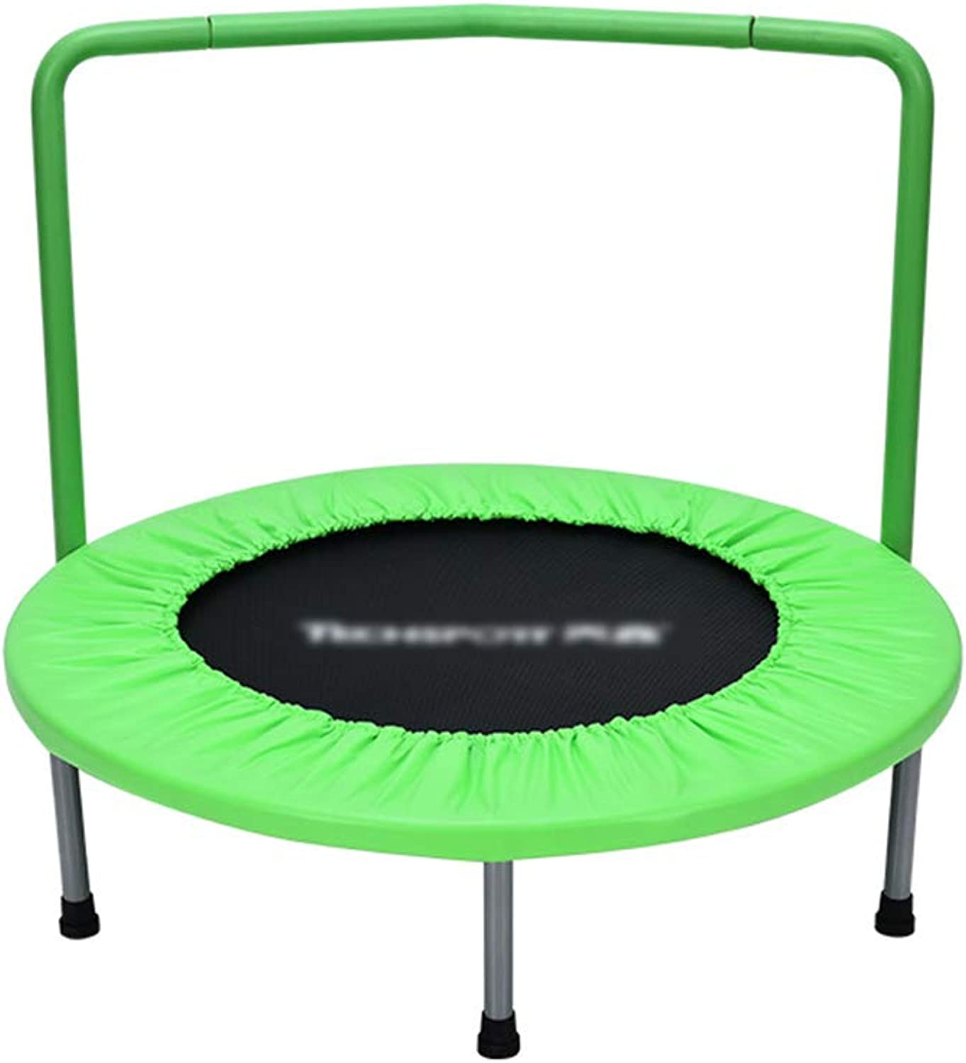 Trampolines 36 Inch with Handrail Mini Portable Jogging Fitness Adult and Kids Excercise Equipment Jumping bed