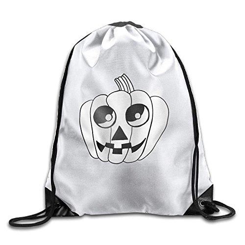 DearLord Süßer Fledermaus-Halloween-Zeichnungen, Unisex, Turnbeutel, Kordelzug