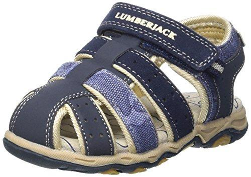 Lumberjack Levi, Sandali Punta Chiusa Bambino, Blu (Navy Blue), 32 EU