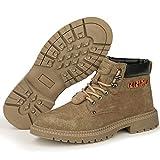 HGFMY Zapatos De Seguridad Altos Hombre, Zapatillas De Seguridad De Mujer, Zapato Seguridad Ligero, Calzado De Seguridad Antideslizante, con Puntera De Acero (39)
