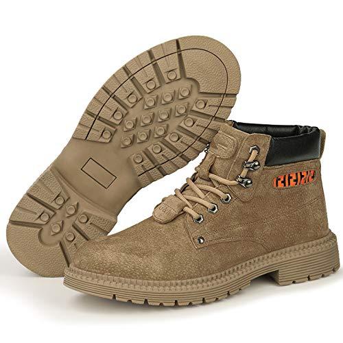 HGFMY Zapatos De Seguridad Altos Hombre, Zapatillas De Seguridad De Mujer, Zapato...