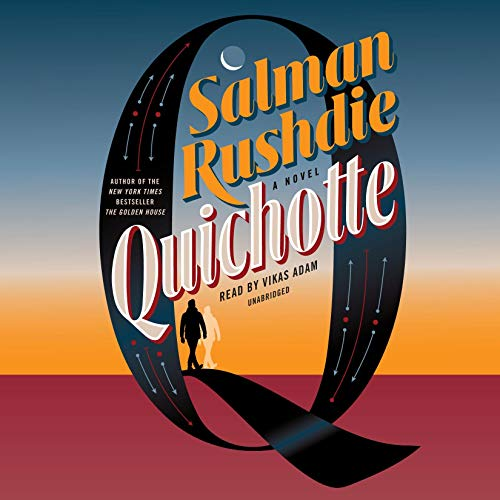 Quichotte audiobook cover art
