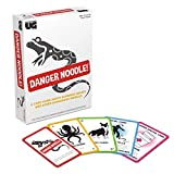 Danger Noodle Card Game by University Games for 2 to 8 Players Ages 12 and Up The Perfect Party Game for Game Night or Family Events, Multi (01436)