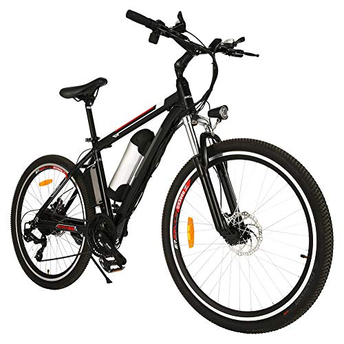 Speedrid Bicicleta Eléctrica Ebike Mountain Bike, Bicicleta Eléctrica de 26' con batería de Litio de 36V 8Ah y Shimano de 21 velocidades