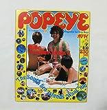 POPEYE ポパイ NO.54 1979年5月10日 ポパイ探検隊シリーズ4 南海の「ユカイ」時間がたまらない THE SOUTH SEA ISLANDS WANT YOU マガジンハウス ニューカレドニア タヒチ