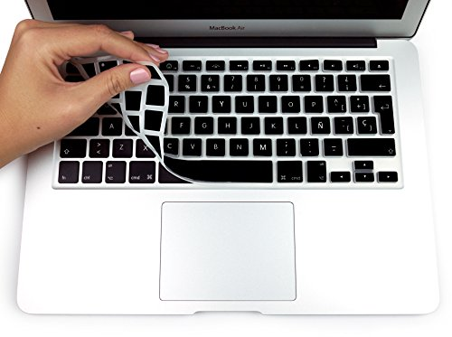 MyGadget Funda Teclado QWERTY [Español] para Apple MacBook Air 13