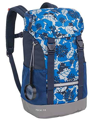 VAUDE Kinder Rucksaecke Pecki 14, radiate blue, 48 x 25 x 18 cm, 124579460