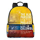 IUBBKI Mochila lateral negra Mochilas informales The Alan Parsons University School Large Capacity Backpack Computer Bag Unisex Suitable Hiking Variety Outdoor Sports