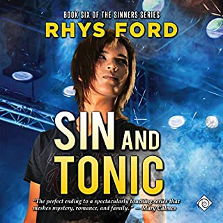 Sin and Tonic audiobook cover art