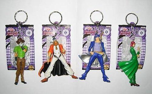 la calidad primero los consumidores primero JoJo's Bizarre Adventure Collection Figure Keychain 1 all four set set set  barato y de alta calidad