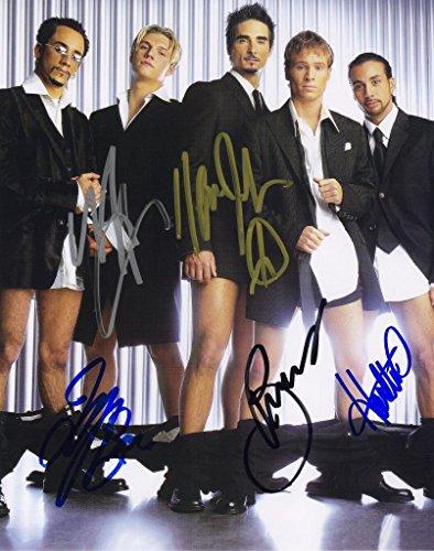 Signiertes Autogramm Poster Backstreet Boys 8 x 10 Fotos