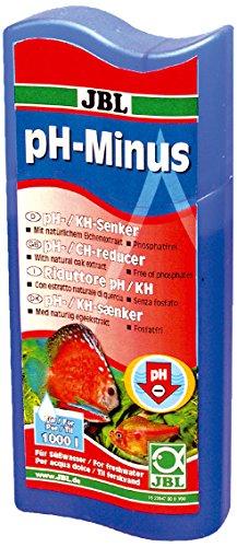 JBL pH-Minus 23046 Wasseraufbereiter zur Senkung der pH-Werte für Süßwasser Aquarien, 100 ml