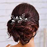Yean Lot de 2 Peignes à Cheveux pour Femmes et Filles - pour Mariage