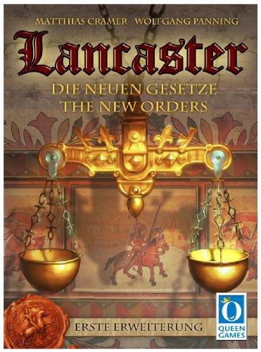 Queen Games 60851 - Lancaster - Extension 1 : Les Nouvelles Lois