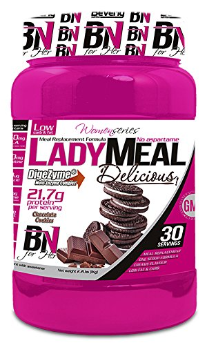 Beverly Nutrition Lady Meal Delicious Proteína Concentrada Mujer Sabor Choco Cookies - 1000 gr ⭐