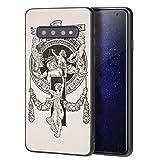 Berkin Arts Alexandre De Riquer para Samsung Galaxy S10 Plus Carcasa/del teléfono Celular de Arte del teléfono Celular de Arte/Impresión Giclee en la Cubierta del móvil(Book Plate of Joan Subirachs)