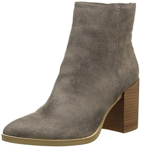Buffalo Shoes Damen B006A-58 P2066C PU Kurzschaft Stiefel, Grau (Taupe 01), 40