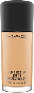 MAC Studio Fix Fluid SPF 15 Face Foundation - NC40, 1.01 oz, Pack Of 1