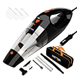 Car Vacuum Cleaner High Power, HOTOR Vacuum Cleaner for Car, DC 12V Portable Handheld Auto Vacuum for Car Use Only, The Best Car Vacuum – Black & Orange