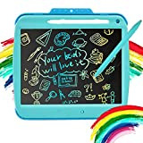 LCD Writing Tablet for Kids - 9 Inch Erasable Drawing Doodle Colorful Screen Board, Toddler Digital Sketch Art Scribbler Pad, Preschool Learning Educational Toy for Girl 3-8 Year Old Birthday Game