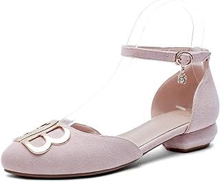 BalaMasa Womens ASL06556 Pu Block Heels