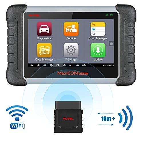 petit un compact Scanner de diagnostic de voiture Bluetooth OBD2 Autel MaxiCOM MK808BT (mise à niveau MK808)…