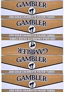 Gambler Light King Size Cigarette Tubes 5 Boxes