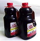 Log Cabin Syrup 64oz. Pack of 2