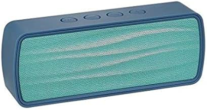 Insignia – Portable Bluetooth Stereo Speaker – BLUE