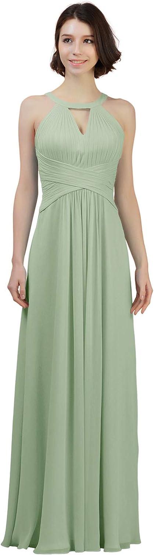 ALICEPUB Indianapolis Mall Chiffon Bridesmaid Dresses Long Dress for Formal Women 2021 model