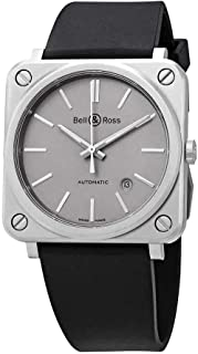 Aviation Instruments BR S-92 Grey Matte Mens Automatic Watch BRS92-GR-ST/SRB