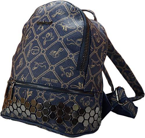 LT LadiesTrends präsentiert kleinen Rucksack Giulia Pieralli Mädchen Designer modischen Rucksack Frauen Studenten Daypack (16023 Blau)