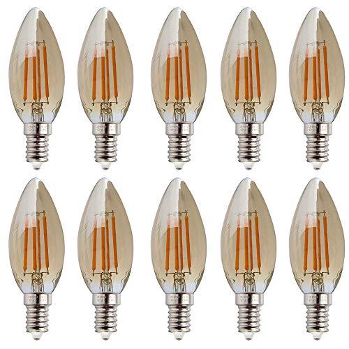 10 stuks C35 4W Retro niet dimbaar gloeidraad LED kaars lamp