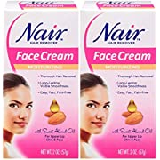 Hair Remover Moisturizing Face Cream 2 OZ (2 Pack)